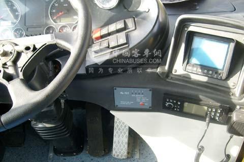 ZYF车用液化天然气泄漏检测及机舱温度报警装置AL-101
