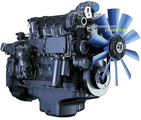大柴498发动机的图解