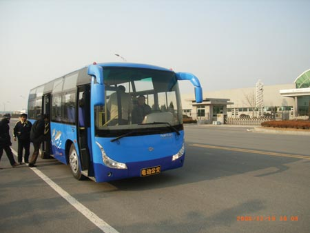 大庆公共汽车-大连快速电动公交车有望明年上岗高清图片