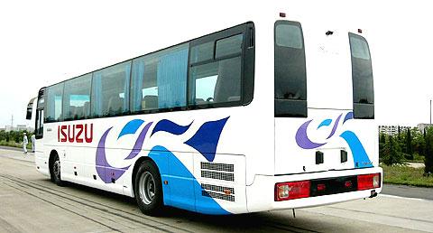 结构性能稳定;引进日本五十铃客车专用生产线--制造