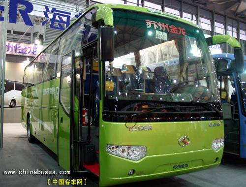 苏州金龙海格客车盛装亮相上海国际旅交会