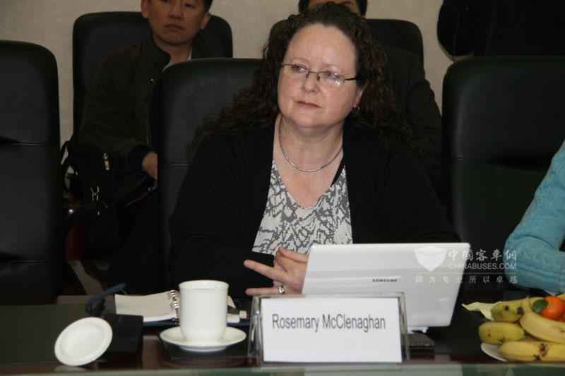 北爱尔兰维绿旅游总裁 Rosemary McClenaghan