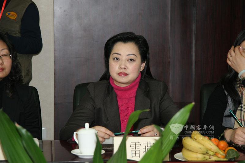 重庆恒通客车有限公司人力资源部经理雷燕