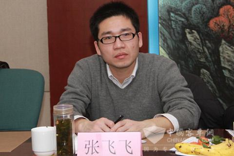 东风旅行车有限公司 人力资源部部长张飞飞