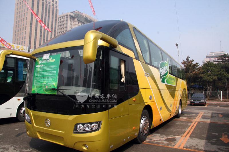 """""""绿动·无限""""-厦门金旅客车2010年环保新产品巡展"""