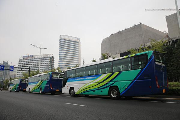 福田欧辉新能源客车服务g20峰会图片