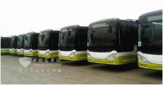 搭载松正4代的气电公交车即将服务广东顺德