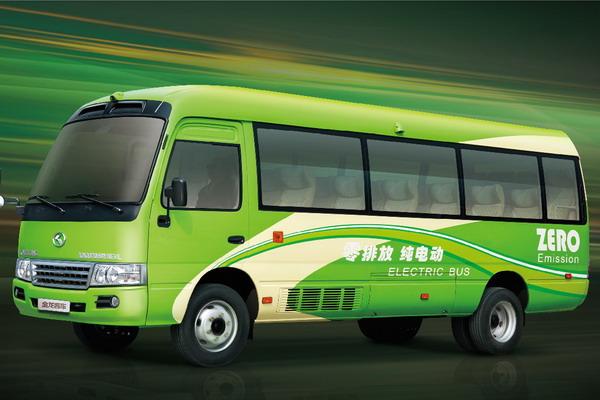 大金龙龙悦XMQ6706纯电动客车外观