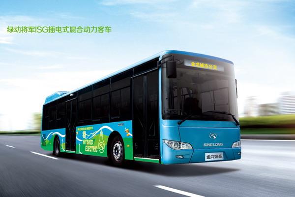 金龙客车ISG混合动力客车XMQ6106