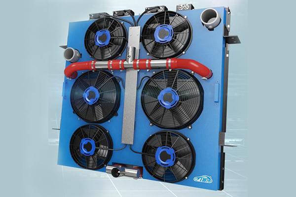 驿力科技I智冷二代客运版发动机智能冷却系统