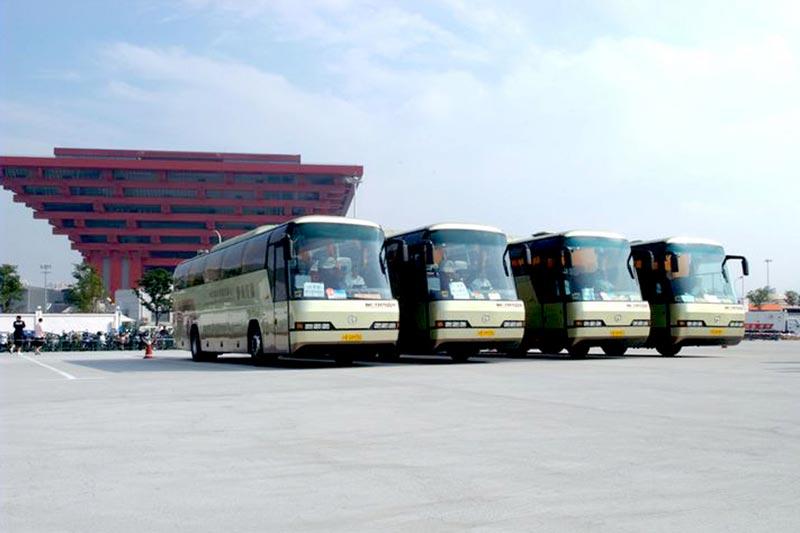北方客车服务上海世博会