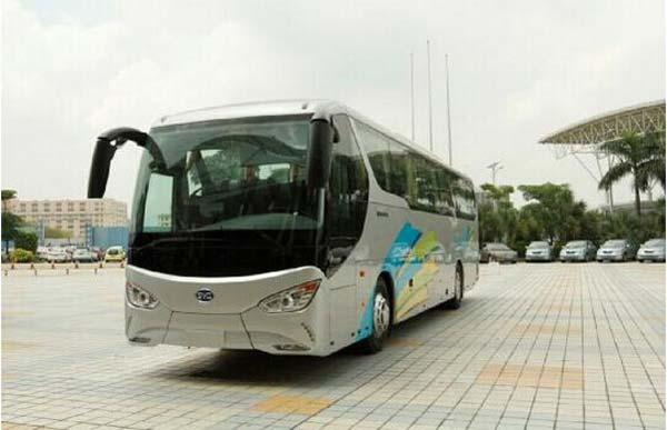 比亚迪C9纯电动客车-比亚迪C9荣膺最佳自主创新奖高清图片
