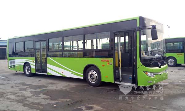 DD6129CHEV7N气电混合动力公交