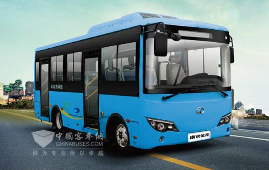 南京金龙纯电动微公交njl6680bev