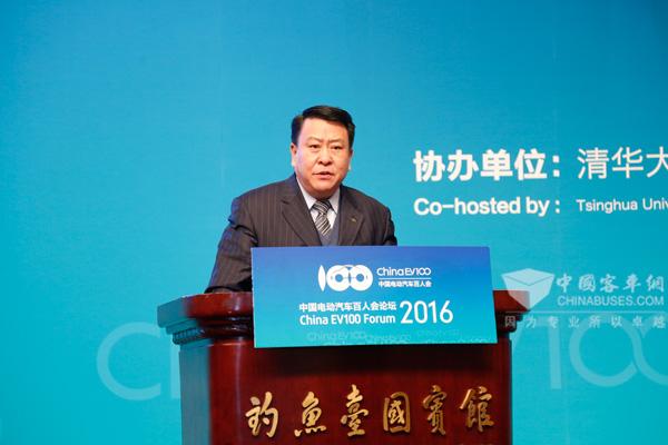 北京汽车集团有限公司党委书记、董事长徐和谊