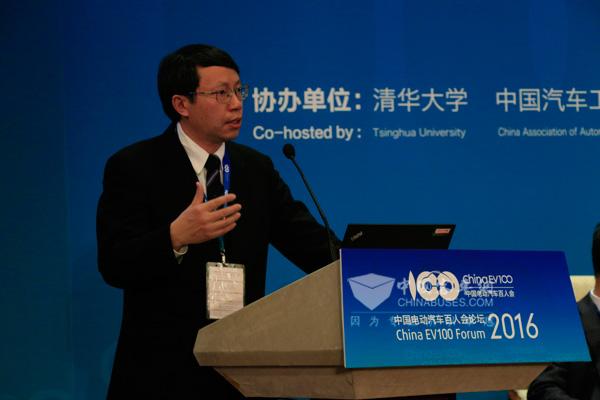 李克强  清华大学汽车工程系主任