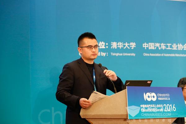 朱光海  国家电动客车电控与安全工程技术研究中心副主任