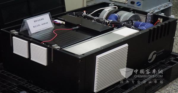 亿华通研发的氢燃料电池系统