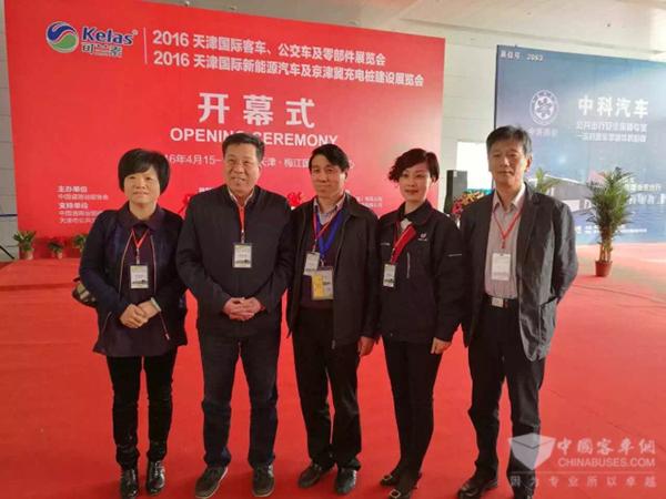 凯迈机电参加2016天津国际客车、公交车及零部件展览会