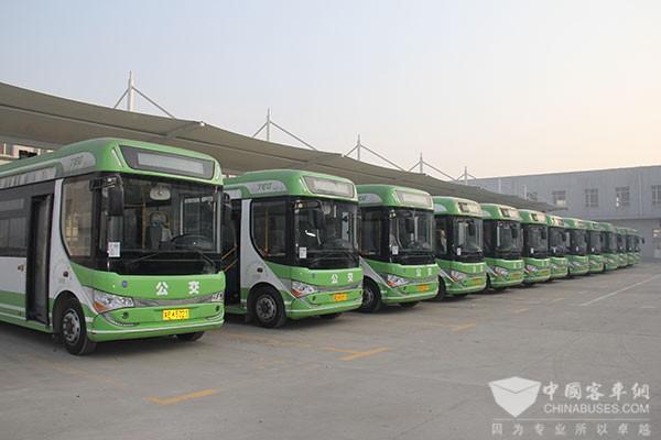 河北:1.3万辆新能源公交车让百姓绿色出行