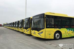 150辆银隆纯电动客车即将点亮潜江城市之美