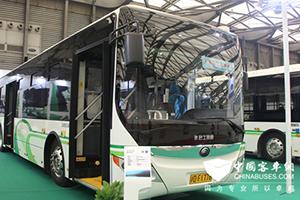 宇通客车亮相2015上海客车国际客车技术展