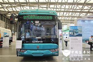 搭载交大神舟空气动力起步系统的亚星客车助力驾驶员节能技术大赛