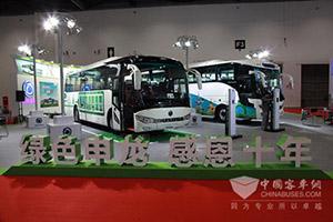 申龙携两款绿色精品亮相2015道路运输展