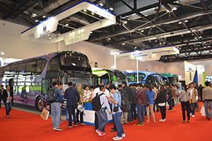 亚星客车亮相2015北京道路运输展