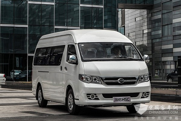 海格H5C 2013款  2.4L 商务舒适型4RB2  KLQ6540QE5