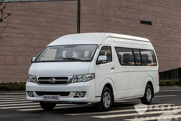 海格H5C 2013款  2.4L 商务舒适型4RB2 KLQ6540QE4