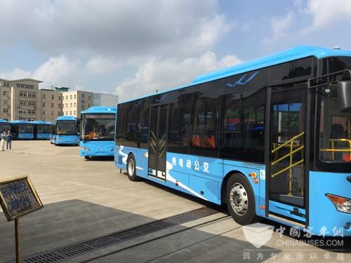 常隆客车携手无锡公交共谋绿色发展