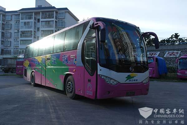 """海南:全力建设""""公交都市"""" 三亚新能源公交已达365辆"""