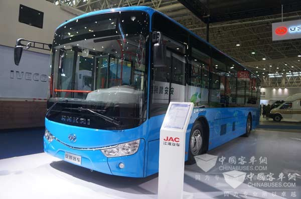 G9混合动力公交车