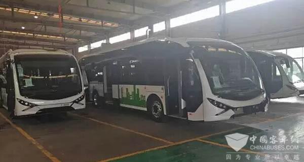 金义都市新区_青年汽车顺利交付金华三、四号线BRT车辆_客车新闻_中国客车网