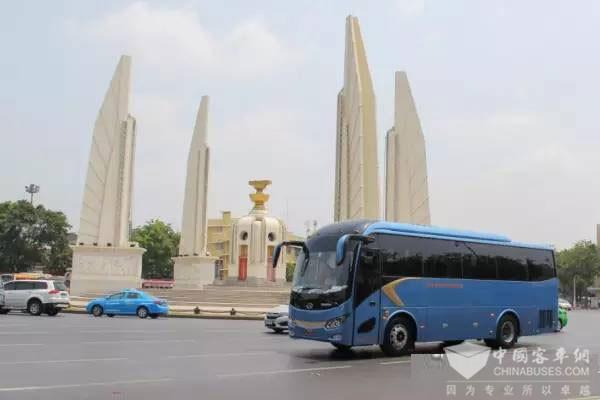 金龙:中国客车领跑者,悄然驰骋于泰国的路上