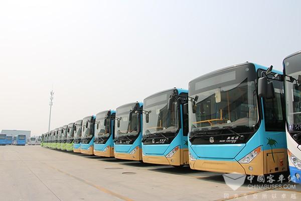 青岛建成区:明年年底前新增更新公交全部为新能源车