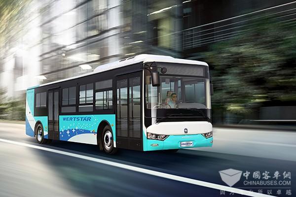 亚星客车 js6101