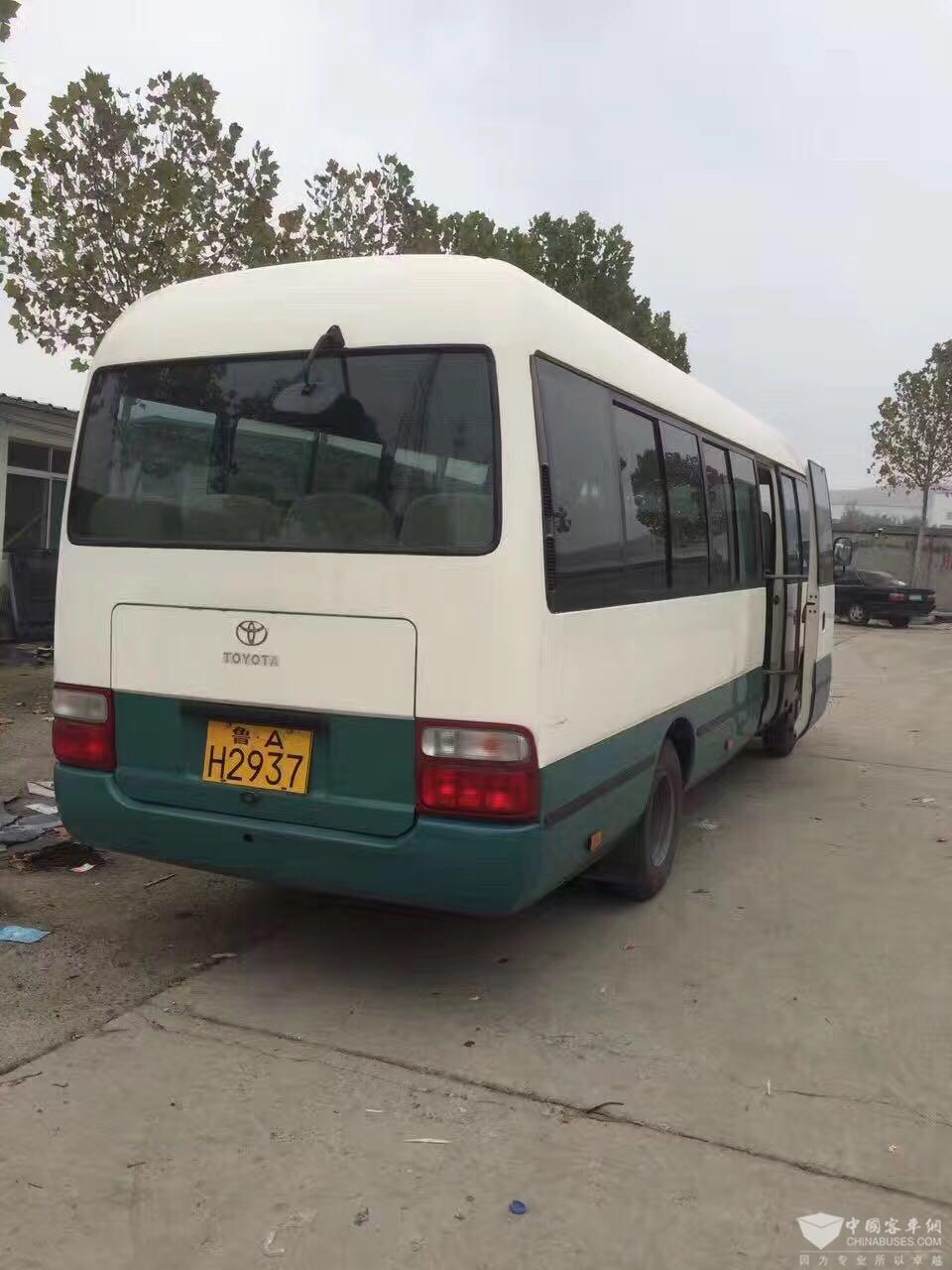 重庆会展网_出售2002年丰田考斯特_卖二手车_中国客车网