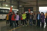台湾友好访问团莅临安源客车