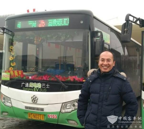 邯郸公交公司技术处处长徐世新