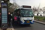 杭州首批比亚迪纯电动小巴上路
