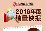 东风汽车公司2016年商用车销售49.18万辆