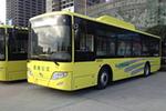 陕西渭南初级中学专线定制公交更换新型纯电客车