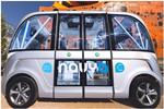 法国无人驾驶公交巴士投入试运营