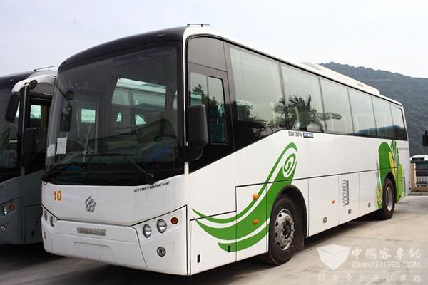 银隆GTQ6118BEV2纯电动通勤客车