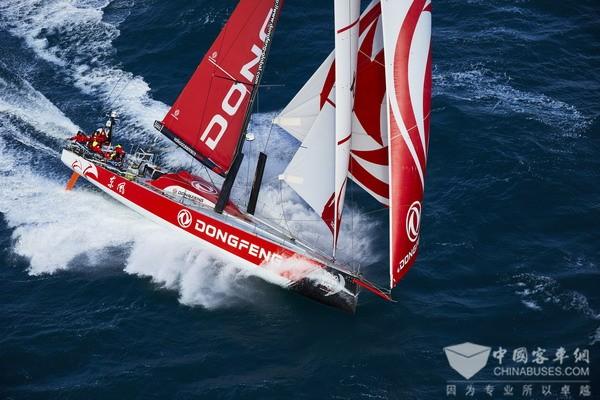 实力见证 外籍明星选手加盟环球帆船赛东风商用车队