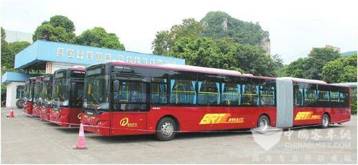 广西百色:平果县投放16辆纯电动公交