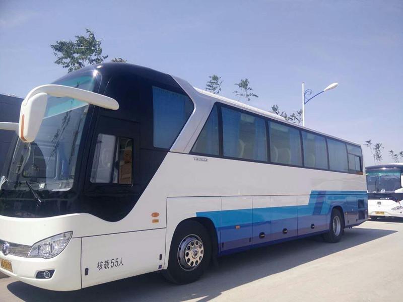 北京55座金龙大巴车出租 承接旅游用车 会议班车租赁 接机接站服务