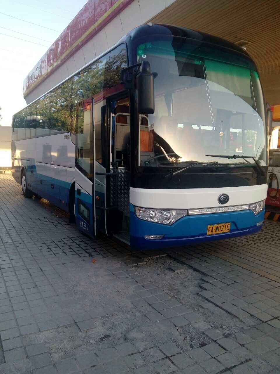 北京骏马神州汽车租赁公司根据用户需求提供15--55座豪华金龙客车